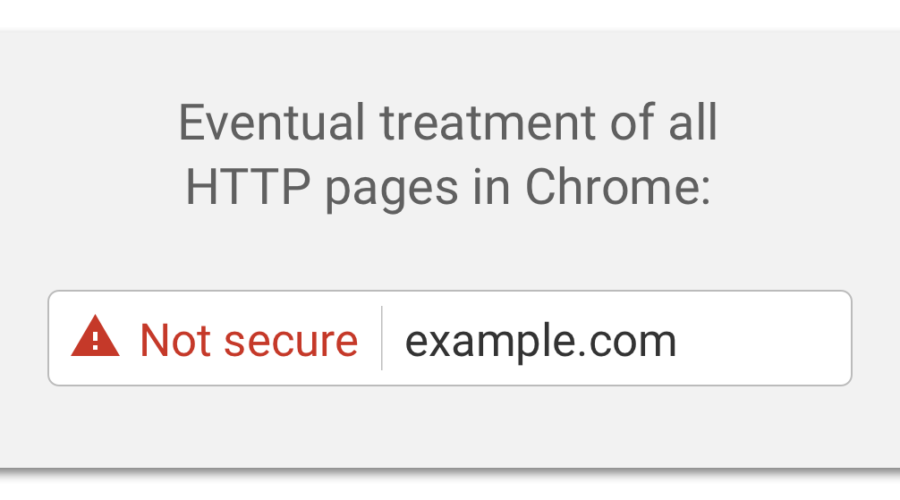 "Avoiding the Chrome ""Not Secure"" Warning"