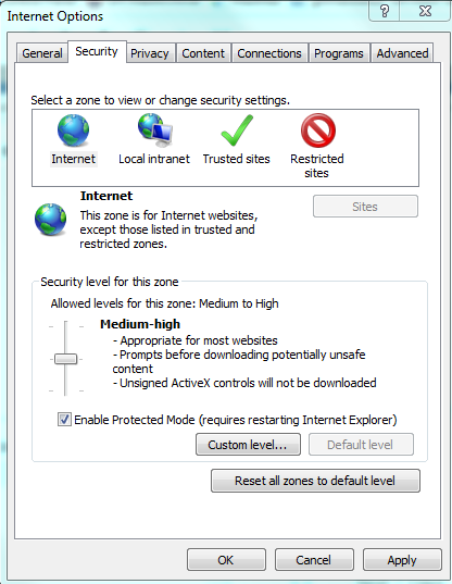 computer security internet browser