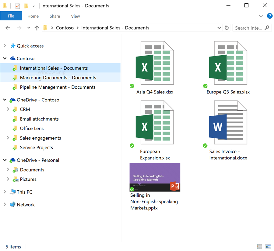microsoft sharepoint file sync